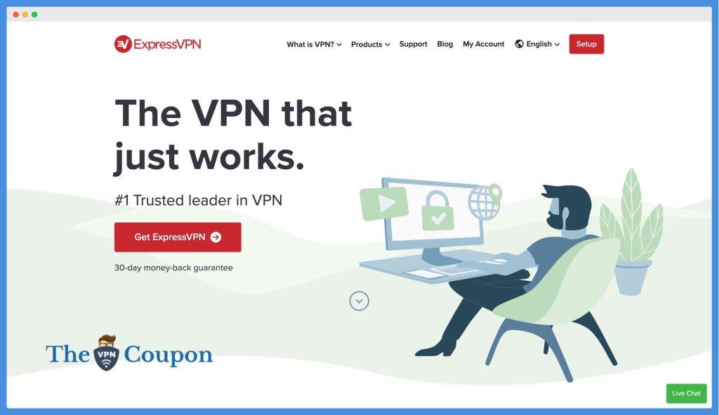 ExpressVPN - Best VPN for Accessing Flixtor Alternatives