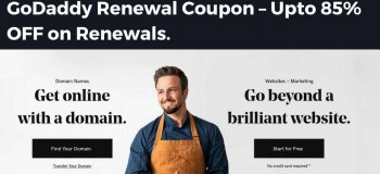 godaddy renewal coupon, godaddy promo code renewal, godaddy domain renewal coupon