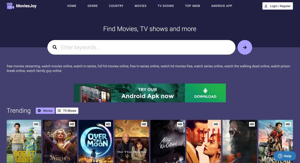 MoviesJoy - Best Flixtor Alternatives