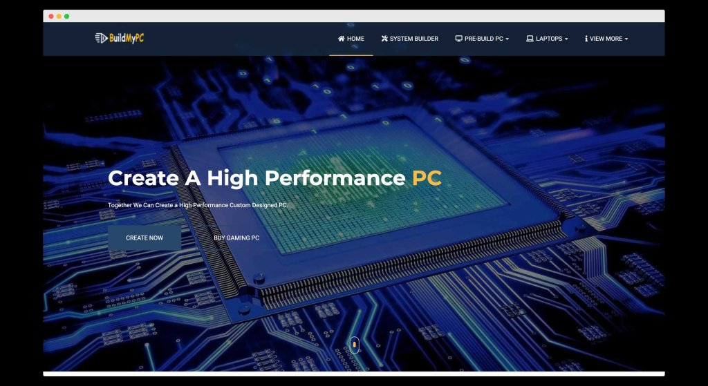 BuildMyPC, A custom website for checking pc compatibility