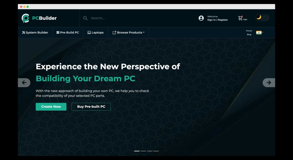 PC Builder, A custom website for checking pc compatibility