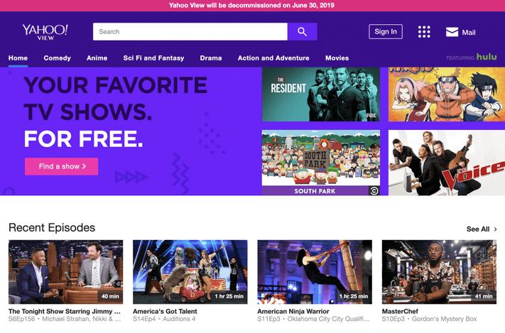 Yahoo View – Best Flixtor Alternatives
